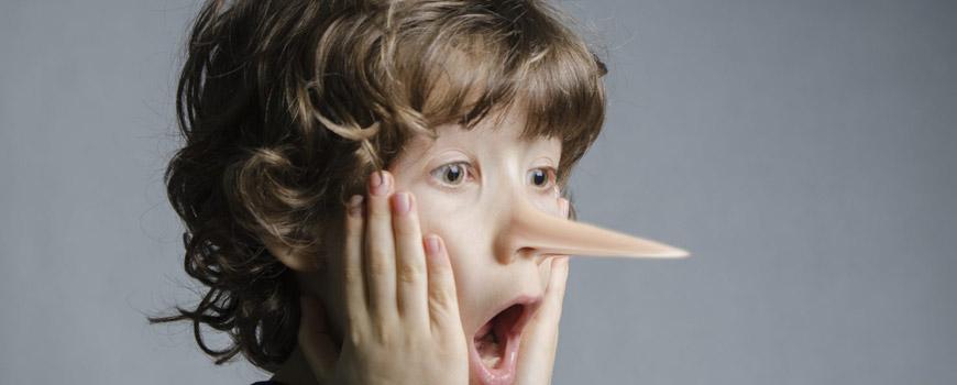 دروغگویی و علل آن در کودکان