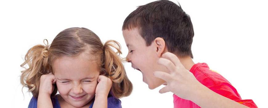 علت های پرخاشگری کودکان