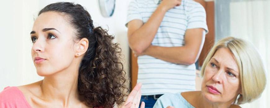 نحوه رفتار با مادر شوهر ؛ سیاست و روش برخورد